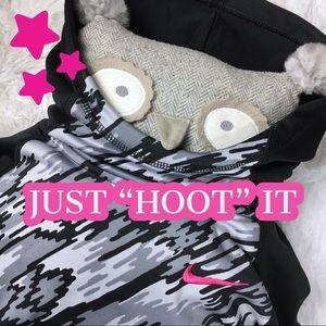 KIDS Nike Girls Thumbhole Hooded Sweatshirt Pink S